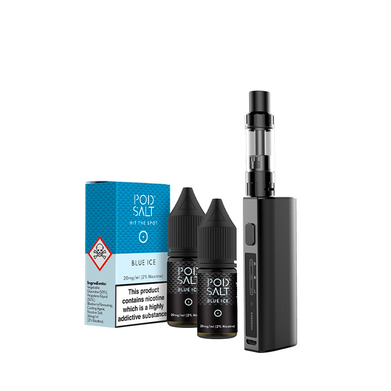 Top Starterset! : IQ + Podsalt Viva Kit | 2x Nikotinsalz nach Wahl Liquid 10ml (20mg)